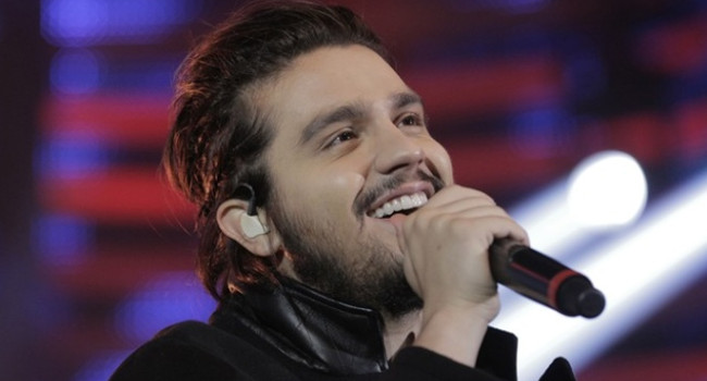 Luan Santana no Domingão