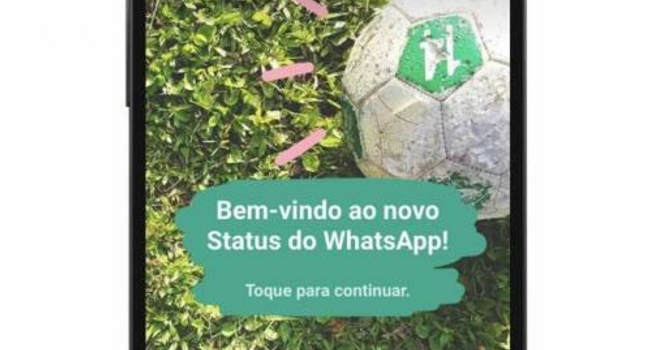 Compartilhamento no WhatsApp desativar status