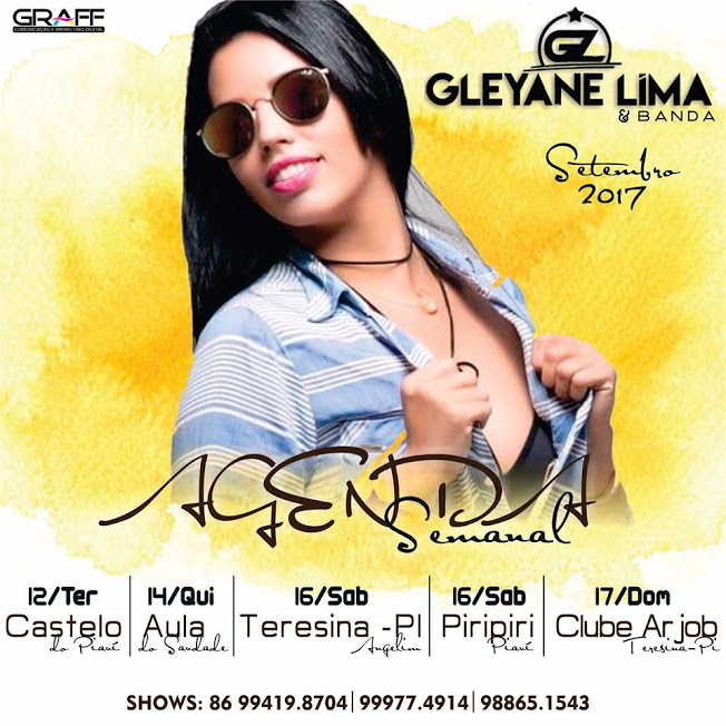 Gleyane Lima agenda de shows