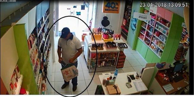 arrastão em loja bandido funcionária teresina