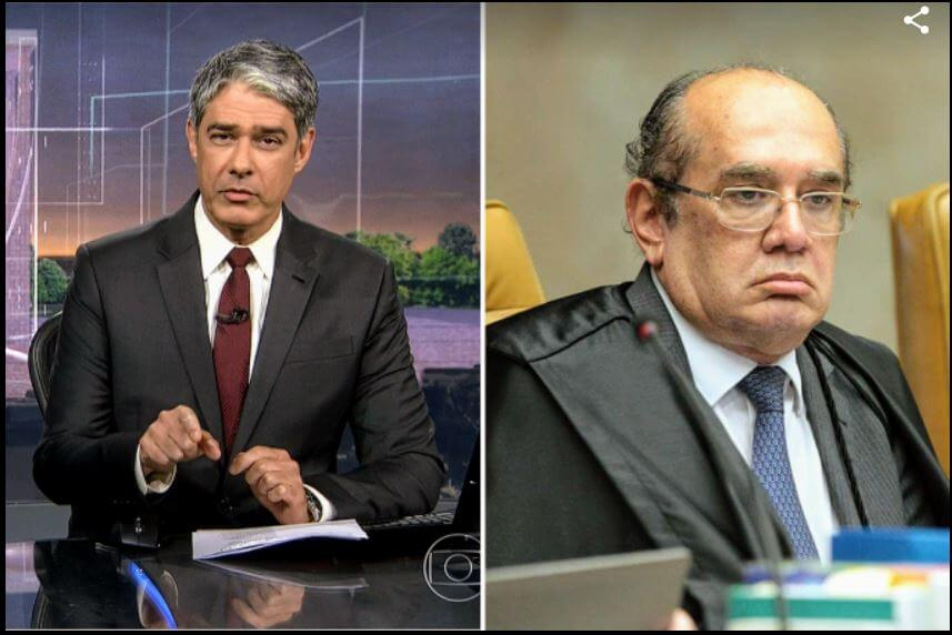 william bonner gilmar mendes jornal nacional