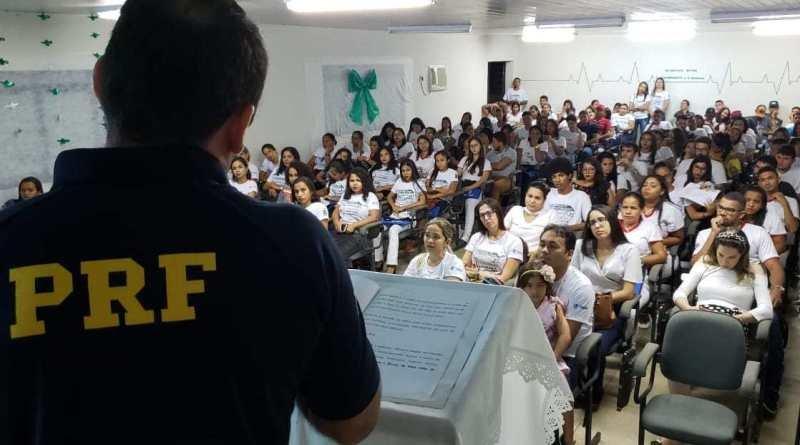 palestras da PRF no Piauí Bom Jesus Teresina