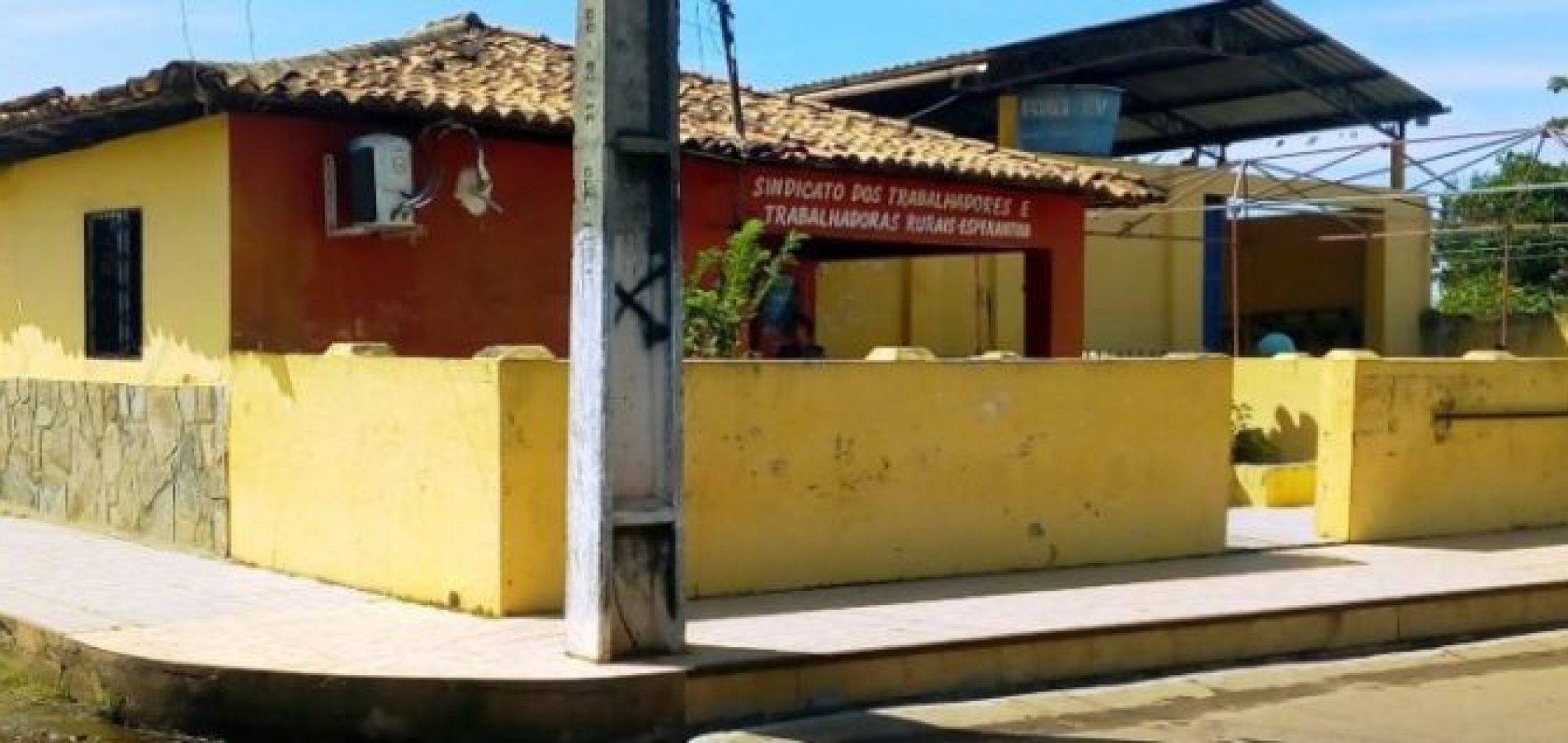 sede do sindicato rural de Esperantina